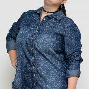 camisa-liocel-estampado-blossoms-plus-size