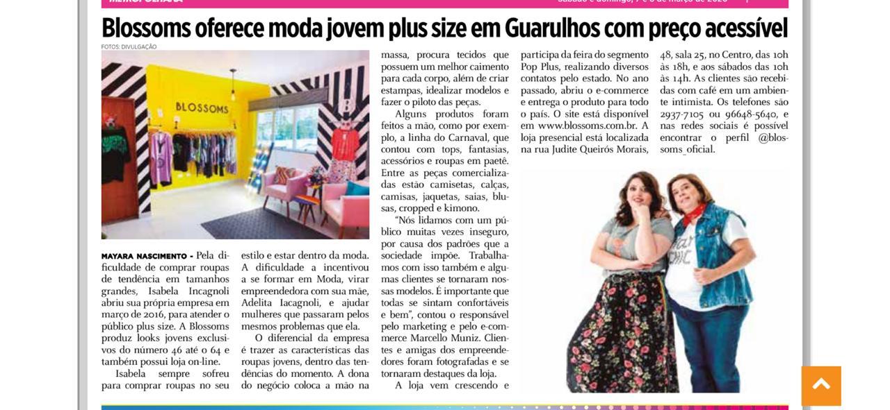 Blossoms Plus Size em Guarulhos